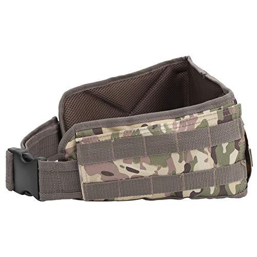DSJSP Adjustable Tactic Waist Bag Outdoor Hiking Camping Waterproof Hunting Waist Pack (Camouflage)