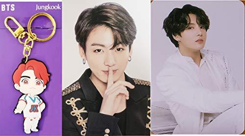 39Koubou Bts ミニドール キーホルダー ロゴ ペンライト グッズ キーリング Photo Card (Jungkook)