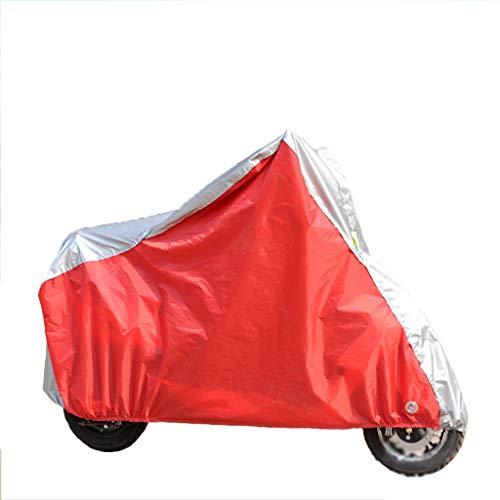WILLQ Fahrradabdeckung Wasserdichter Sonnenschutz Regenschutz staubdichte Universal-Fahrradabdeckung für Fahrräder und Motorroller Hybrid-Fahrradabdeckung,XL