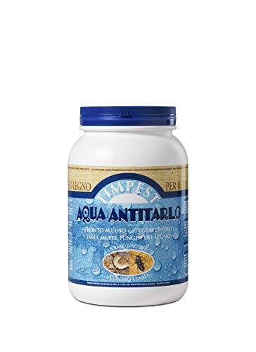TIMPEST AQUA ANTITARLO LT. 3 - base acqua attivo contro tarli, larve, termiti e parassiti del legno - liquido pronto all'uso