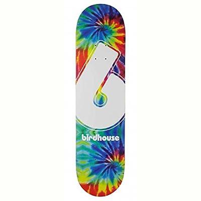 Birdhouse Skateboard-Deck Giant B Tie Dye - 8 Inch Multi (One Size , Blau)