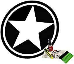 Jeep Wrangler freedom edition military star decal 18