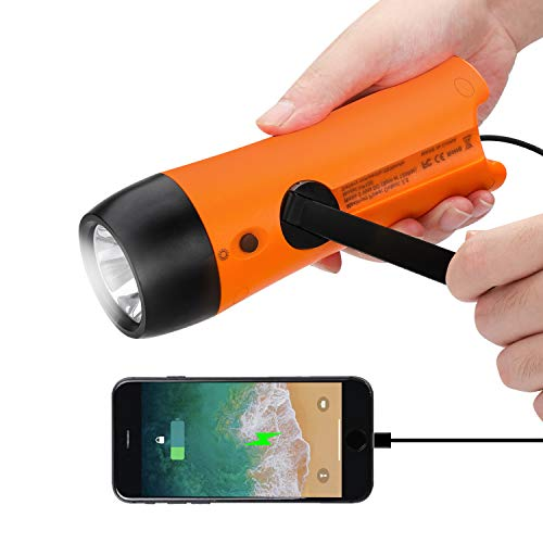 See the TOP 10 Best<br>Hand Crank Flashlights