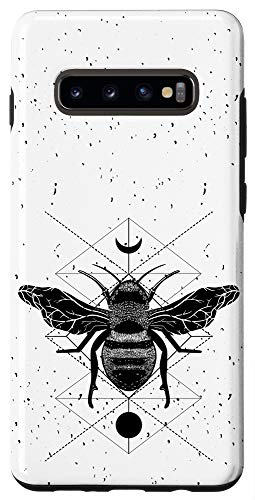 Galaxy S10+ Occult Geometric Bee Witchcraft Gothic Witch Phone Case