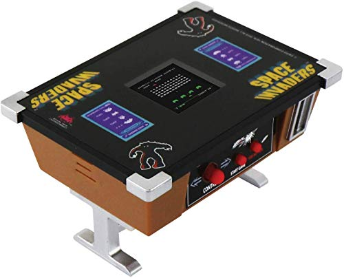 Space Invaders Mini Cocktail Tabletop Game with authentic graphics and sound