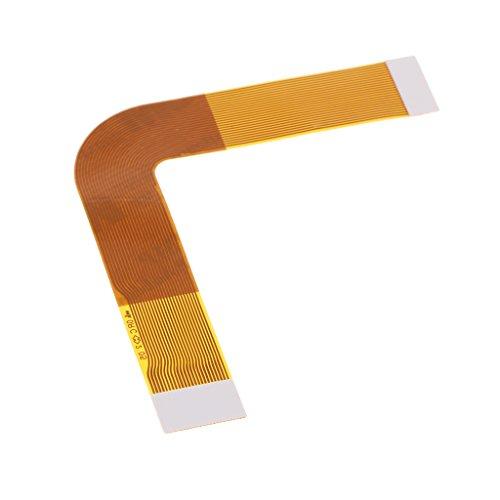 gazechimp Substituição 7W Drive Lens Pickup Ribbon Flex Cable Para Sony PS 2