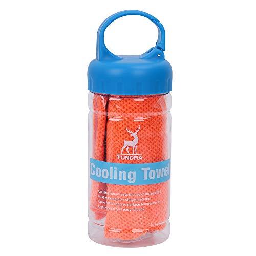Barrageon Toalla de Enfriamiento, Toalla Fresca para Deportes, Entrenamiento, Gimnasio, Yoga, Pilates, Viajes, Camping, Cuello de Enfriamiento