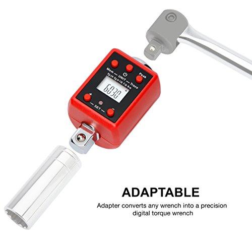 NEIKO 20741A Digital Torque Adapter 1/2