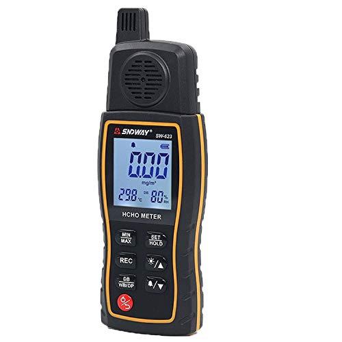 Dhmm123 Digital SW623 Hand halten Formaldehyd-Detektor Formaldehyd-Tester Innenumgebung Formaldehyd-Gas-Monitor-Tester Spezifisch
