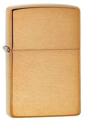 Zippo Zippo 1025204 Feuerzeug 204B Brass Brushed Brushed Brass