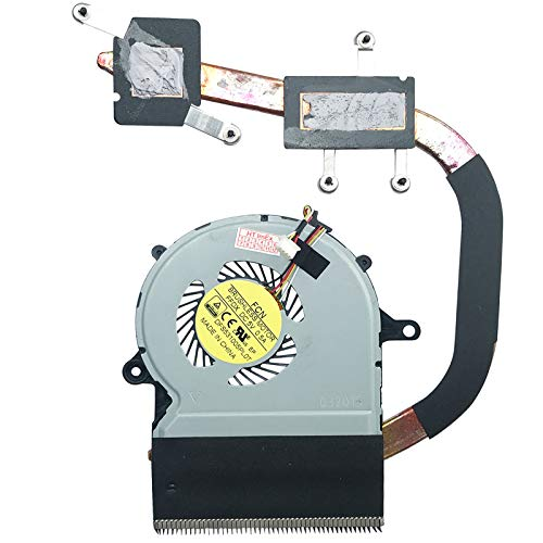 Fan Cooler with Heatsink Compatible for Acer Aspire R14 (R3-471T-359R), R14 (R3-471TG-552E), R14 (R3-471TG-707N), R14 (R3-471T-54T1), R14 (R3-471T-52AQ)