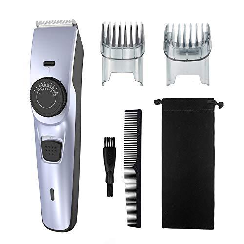 Haarschneidemaschine, wiederaufladbarer Detail-Trimmer, kabelloser Haarschneider, Bartrasierer, elektrisches Haarschneide-Set, komplettes Haar-Clipping für zu Hause (blau)