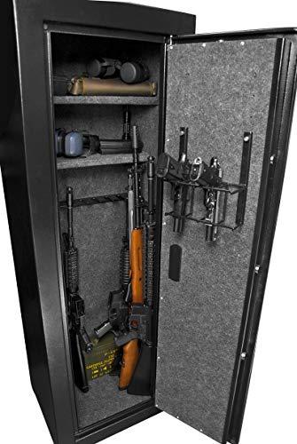 Winbest Barska Large Quick Access Keypad Fingerprint Biometric Rifle Safe Cabinet 19.6 in x 16 in x 57 in