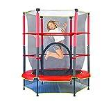 JBFZDS Kindertrampolin, Trampolin-Schutzhülle Sicherheitsnetz Elastizität Abnehmen Sprungbett Verwendung Im Außen- Und Innenbereich for Kinder Sprungtuch Junior-Trampolin