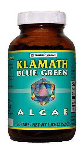 Klamath Blue Green Algae 130 Tablets by Power Organics
