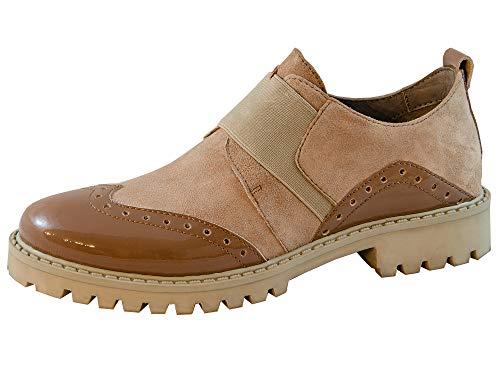Marc Shoes Damen Fia Slipper, Braun, 39 EU