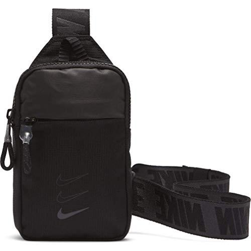 Nike Sprtswry Esypys S Hip P, Sac Mixte, Black/Black/DK Smoke Grey, Taille Unique
