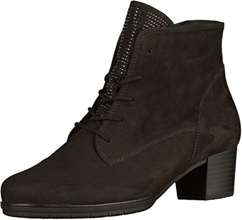 Gabor laarzen in grote maten zwart 75.533.17 grote damesschoenen