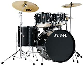 Tama Imperialstar Complete Drum Set - 5-Piece - 22 Inches Kick - Hairline Black