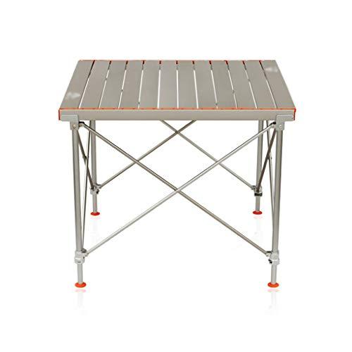 hanzeni Mesa De Camping, Mesa De Aluminio Portátil Plegable con Bolsa De Transporte para Acampar Al Aire Libre, Senderismo Y Picnic