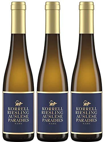 Martin Korrell: 3 Flaschen Paradies Riesling Auslese, großartig in seiner Finesse und Eleganz, mit bestechender konzentrierter Frucht
