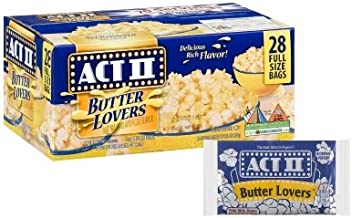 ACT II Butter Lovers Microwave Popcorn - 28/3 oz (Original Version)