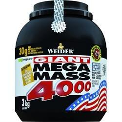 Weider Nutrition Mega Mass 4000 Schokolade 3000g x 1