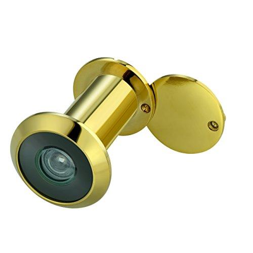 TOGU TG3016YG-PG UL Listed Solid Brass HD Glass Lens 220-degree
