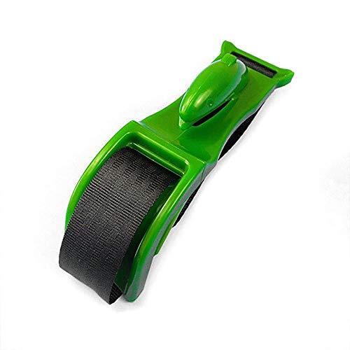 2 Piezas Embarazo cinturón de seguridad, evitar la compresión del abdomen Ajustador del asiento Confort Seguridad maternidad coche Proteja Nonato (Green Dolphin)