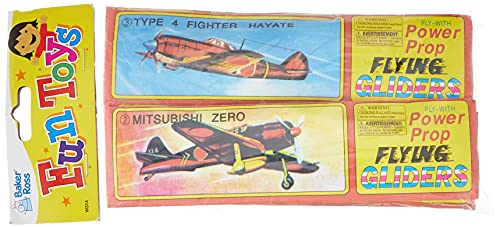 """Baker Ross Gleitflugzeuge """"Propeller"""" – zum Spielen für Kinder – als Preis & Mitgebsel für den Kindergeburtstag (6 Stück)"""