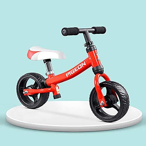 Sharesun Fietsstuur voor kinderen en kinderen, van staal met een hoog koolstofgehalte licht zonder pedalen Sport Training Fiets voor kinderen vanaf 1 2 tot 3 jaar