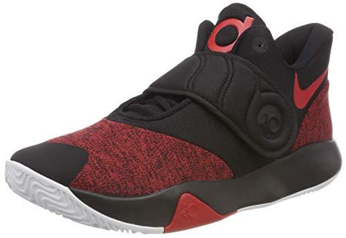 Nike Herren KD Trey 5 VI Sneakers, Schwarz (Black/University Red/White 001), 43 EU