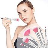 Brochas de Maquillaje 7 Piezas de HyAdierTech, Cerdas de Fib