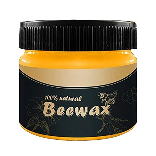 Multipurpose Natural Wood Seasoning Beeswax - Complete Solution Furniture Care Beewax Polish - Home Cleaning Waterproof Wear-Resistant Beewax Wax Conditioner Protector Cleaner