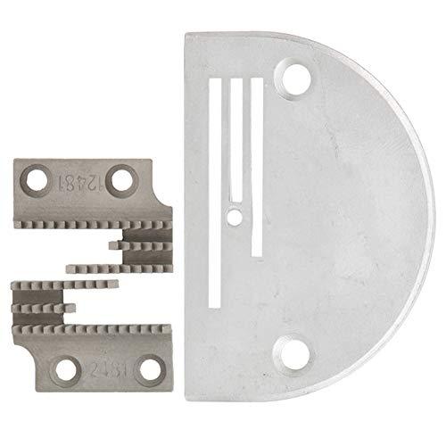 Accesorio de la máquina de coser industrial del perro de alimentación tipo B de la placa de la aguja para la máquina de coser de la puntada de bloqueo