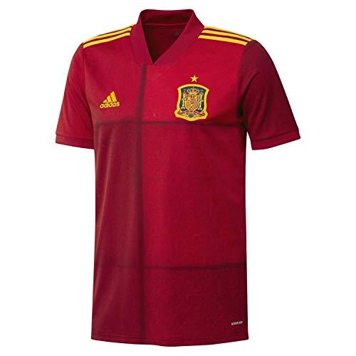 adidas Selección Española Temporada 2020/21 Camiseta Primera equipación, Unisex, Victory Red, XL