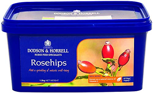 Dodson & Horrell Fine Cut Rosehips for Horses, 1.5 kg