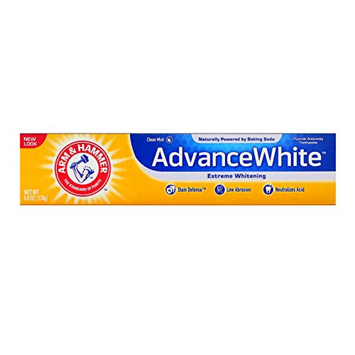 Arm & Hammer Advance White Extreme Whitening Toothpaste Clean Mint - 6 Oz- Pack of 4