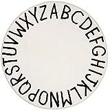 alfombra redonda infantil letras