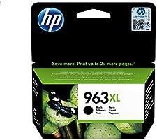 HP 963XL (3JA30AE) Original Druckerpatrone mit hoher Reichweite (für HP OfficeJet Pro 9010, 9012, 9015, 9016, 9019,...
