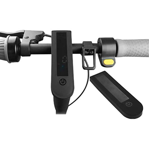 LHY Linghuang - Panel de protección impermeable de silicona, apto para Ninebot Segway Max G30 Scooter eléctrico, accesorios (negro)