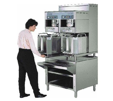 New Fetco CBS-72A 7000 Series Twin Coffee Brewer with 6 Gallon Capacity