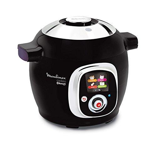Moulinex Cookeo Connect CE7038 - Robot de cocina, conectividad con tablet y smartphone, tecnología alta presión