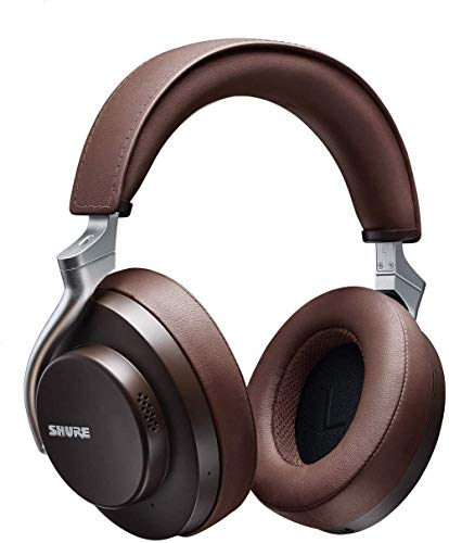 Shure AONIC 50 Wireless Over-Ear Noise Cancelling Headphones (Brown)
