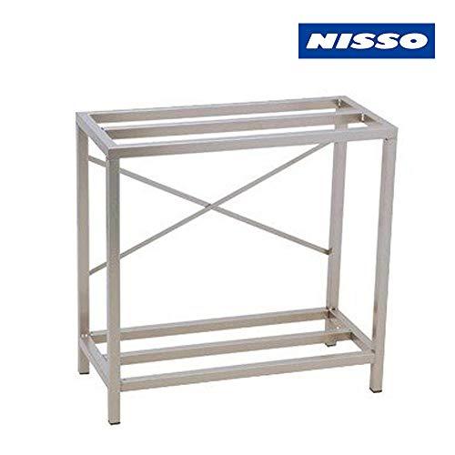 ニッソー 水槽台 組立スチールキャビネット 600 NCS-030 (ライトグレー) M サイズ