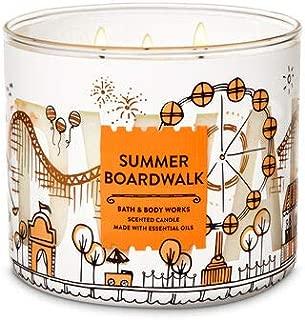 Bath & Body Works 3 Wick Candle, Summer Boardwalk