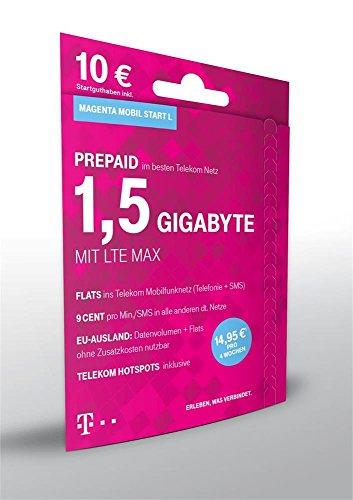 XtraCard Magenta Mobil Start L 10 Euro Startguthaben (Triple-Sim)