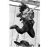 Carteles e impresiones Hot Rock Band Chris Cornell Music Star Art Poster Pintura en lienzo Decoración para el hogar -50x70cmx1pcs - Marco interior de madera