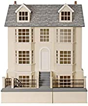 Melody Jane Dolls Houses 1:12 House Regency Town & Basement Unpainted Flat Pack MDF Wood Kit