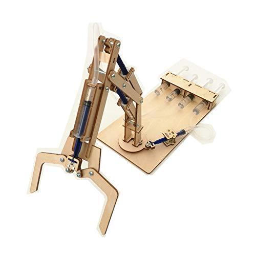 juler STEM Giocattoli Tecnologia idraulica Braccio Meccanico Piccola Produzione Piccola invenzione Puzzle Modello Elettrico Trasmissione idraulica,Gia